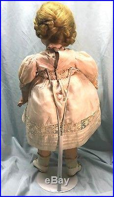 Stunning antique Bebe on early marked Jumeau body with dept store label