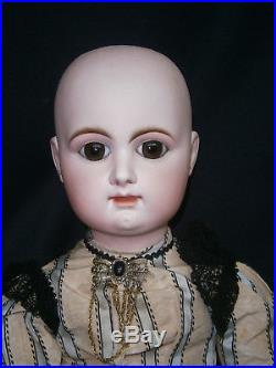 Sublime 33(82cm)amazing Large Early R5d French Antique Bisque Bebe Doll Couture