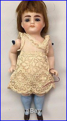 Tiny 7 All Bisque Jointed Antique Doll (3 DAY LISTING Only)