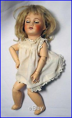 Unis France Antique 10-inch Authentic French Bisque Collector's Doll 301 205