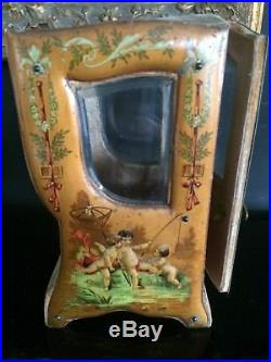 VICTORIAN CARRIAGE ACCESSORY for ANTIQUE FRENCH FASHION BISQUE MIGNONETTE DOLL