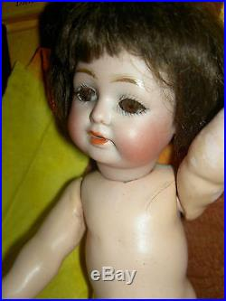 Very rare antique bisque JD Kestner Germany 260 toddler doll with starfish hands