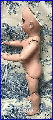 YOU DRESS! BARGAIN Antique Doll Tete Jumeau French Bisque Bebe Size 10